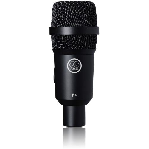 Akg Pro Audio P4 Instrument Dynamic Microphone, Cardioid