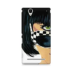 Motivatebox- What's Up Premium Printed Case For Sony Xperia T2 -Matte Polycarbonate 3D Hard case Mobile Cell Phone Protective BACK CASE COVER. Hard Shockproof Scratch-