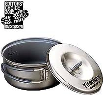 Evernew Titanium Non-Stick Pot, 0.6-Liter