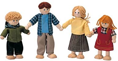 Plan Toy Doll Family - Caucasian