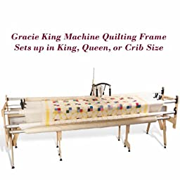 Grace Gracie King Machine Quilter, 4th Rail, QuiltCad Pattern Software, Bungee Clamps Included