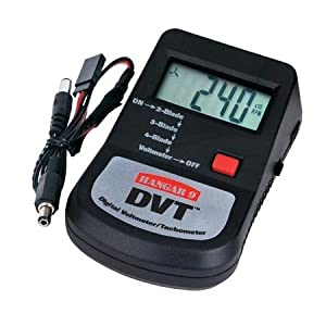 Click to buy Hangar 9: DVT Digital Voltmeter/Tachometer from Amazon!