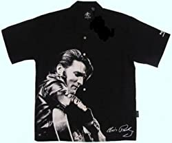 Elvis Presley, Love Me Tender Club Shirt, Dragonfly