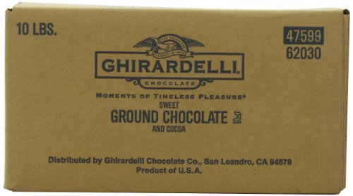 Ghirardelli Chocolate Sweet Ground Chocolate & Cocoa Beverage Mix, 10-Pound Package (Ghirardelli Beverage compare prices)