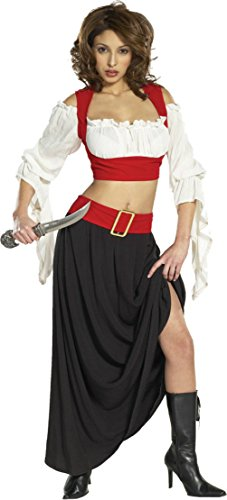 Cinema Secrets Womens Pirate Renaissance Theme Party Fancy Halloween Costume