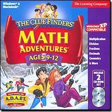 Cluefinders Math Adventures Ages 9-12 Deluxe - 1