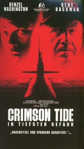 Crimson Tide - In tiefster Gefahr [VHS]
