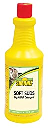 Simoniz S3350012 Soft Suds Liquid Soap for Hand Dishwashing, 32 oz Bottles per Case (Pack of 12)