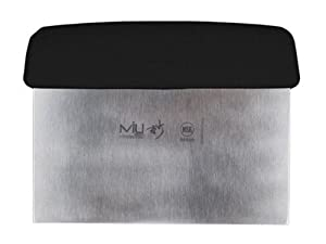 MIU France Stainless Steel Dough Scraper, 6-Inches by MIU France