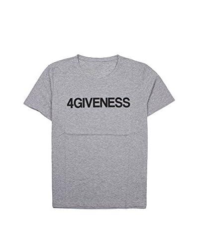 4giveness T-Shirt Manica Corta  [Grigio Melange]