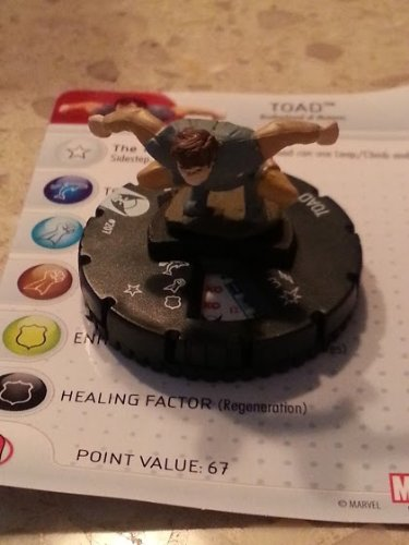 Marvel Heroclix Wolverine and the X-Men Toad gravity feed