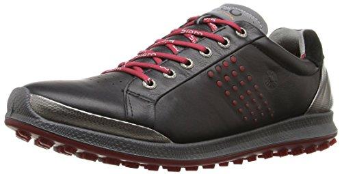 Ecco Mens Biom Hybrid Golf Shoes (black/brick)