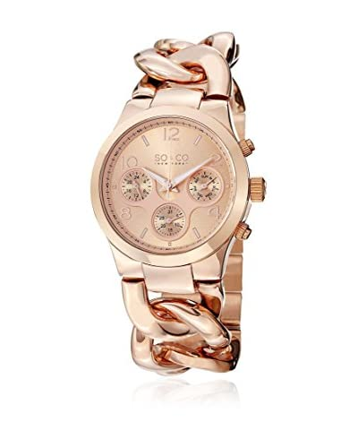 SO & CO New York Quarzuhr 5013.3 38 mm roségold 38 mm