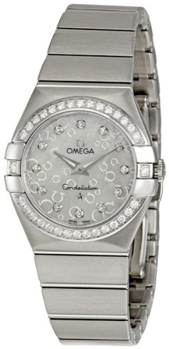 Omega Women's 123.15.27.60.55.005 Constellation Mother-Of-Pearl Dial Watch