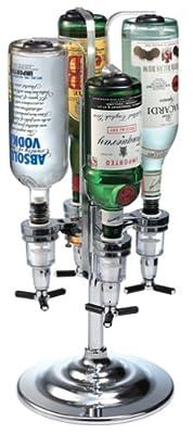170回転 ドリンクディスペンサー(4ボトル) Global Decor社【並行輸入】