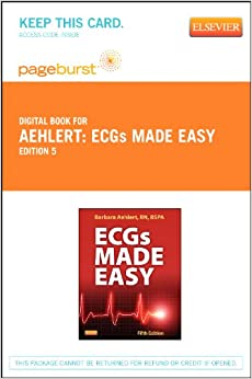 Ecgs made easy book and pocket reference package 5e