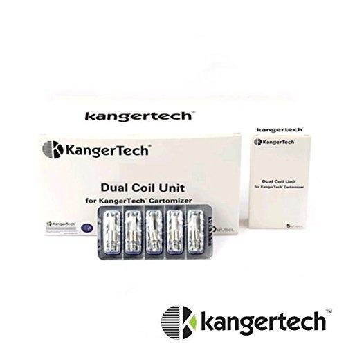 NEW KangerTech アップグレード用交換ディアルコイルユニット5pcs/pack (1.5ohm)