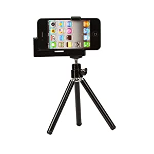 Black Mobile Holder for Iphone 3g / 3gs / 4g / Itouch