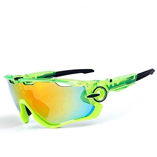 OPEL-R All aperto equitazione polarizzati occhiali/PC materiale tempo libero spiaggia occhiali da sole/occhiali sport, contiene cinque varietà di lenti di decorativi , 11subsection