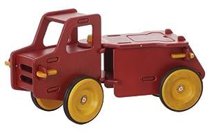 Moover Wooden Dump Truck (Red)