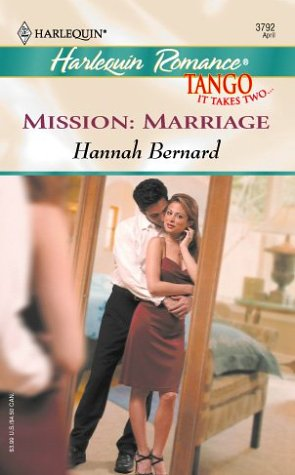 Image for Mission:Marriage (Harlequin Romance)