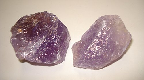 (#6) 2Pc Bolivia Amethyst & Ametrine Premium Quality Medium/Large Choice Piece Raw Rough 100% Natural Crystal Gemstone Specimen