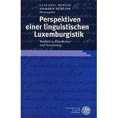 Perspektiven einer linguistischen Luxemburgistik