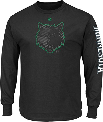 NBA Minnesota Timberwolves Men's Easy Choice Long Sleeve Basic Tee