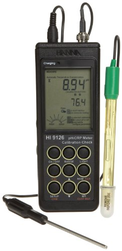 Hanna Instruments HI 9126W Waterproof pH/ORP Meter For Wine