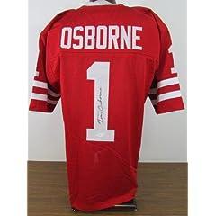 Tom Osborne Autographed Jersey - JSA W387770 - Autographed College Jerseys