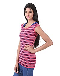 Juelle Women's Blended Teaberry Top