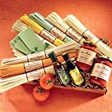 Lotsa Pasta Gift Box with Gourmet Pasta, Lasagna, Olive Oil, and Gourmet Sauces