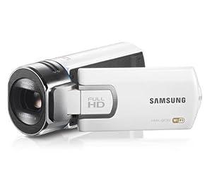 SAMSUNG Caméscope haute définition QF30 - blanc + Carte mémoire SDHC - 8 Go Classe 10 (LSD8GBBBEU200C10)