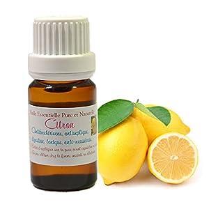 Huile Essentielle HEBBD de CITRON 10ML (Citrus limonum)