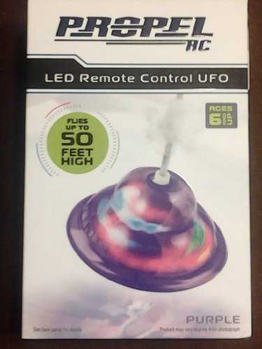 Propel Rc Led Remote Control Ufo Hovermaxx Bnip Hovers 50Ft High (Color / Grey)