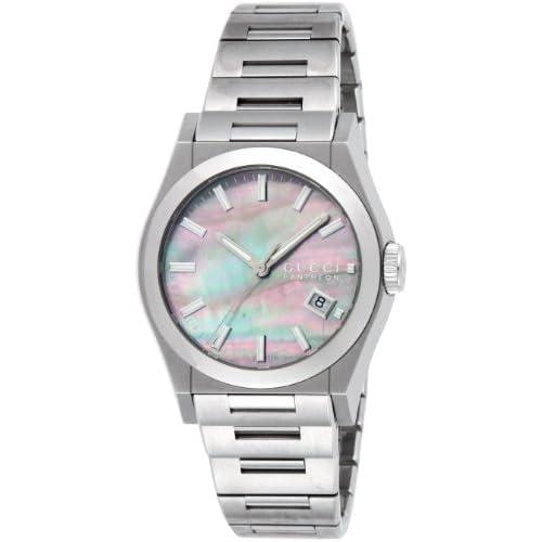 [グッチ]GUCCI 腕時計 パンテオン 115MD YA115401 SS ブラックシェル ユニセックス [並行輸入品]