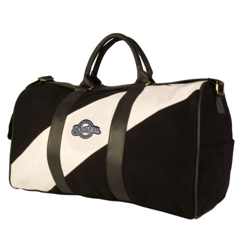 MLB Milwaukee Brewers Pangea Vintage Canvas Duffles at Amazon.com