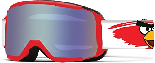 Smith Optics Daredevil Junior Youth Snow Goggles, Red Angry Birds/Ignitor, Medium/Large