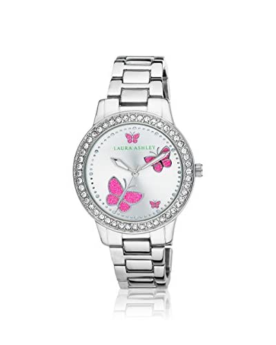 Laura Ashley Women's LA31015SS Analog Display Japanese Quartz Silver Watch