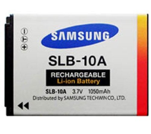 Samsung SLB-10A 1050mAh Lithium Ion Rechargeable Battery for Samsung L100, L110, L200 and L210 Digital Cameras