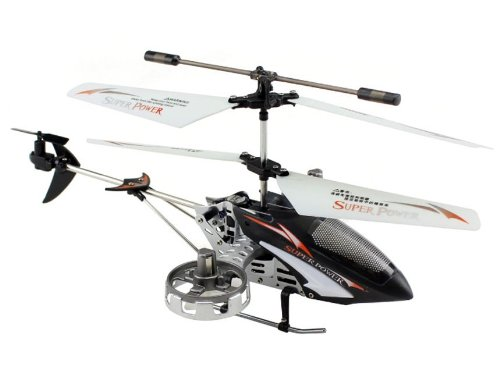 L6022 Plastic + Alloy 4-Channel Infrared RC Helicopter with Light Control Automatic Cruise