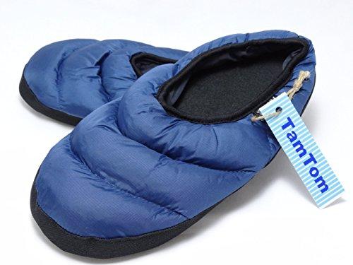 【TamTom】 ダウン 素材 あったか 室内 履き ホーム スリッパ 足 ぽかぽか 寒さ対策 に DS280 TamTom
