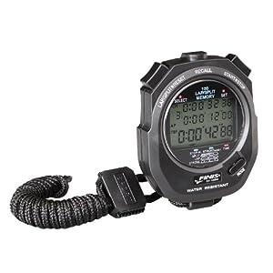 FINIS Chronomètre 3x-100M Memory Noir