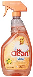 Mr Clean  Cleaner with Febreze Freshness Hawaiian Aloha Scent Spray, 32-Ounce (Pack of 3)
