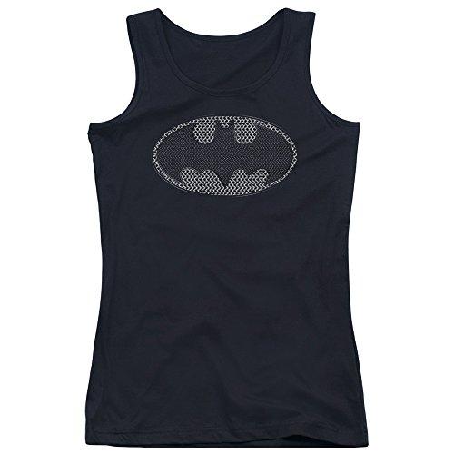 Batman-slip in maglia metallica-Canottiera per bambini Nero  nero