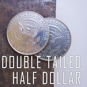 Double Sided Coin - Half Dollar - Tail