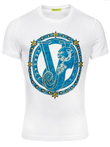 Versace Jeans Couture T-Shirt (M-03-Ts-30558) - 56(DE) / 56(IT) / 56(EU) - weiss