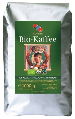 BIO Fairtrade Kaffee/Espresso 100% Arabica, 1000
