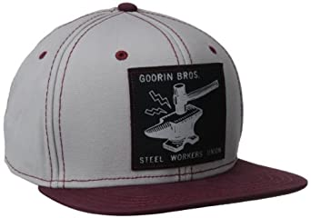 Goorin Bros. Men's Union Baseball Hat, Gray, One Size