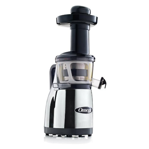 Omega Vrt380Hdc Vertical Masticating Juicer (Chrome)